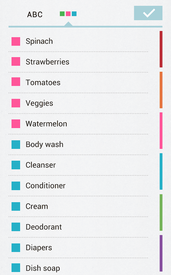Buy Me a Pie! Grocery List Pro Screenshot 8