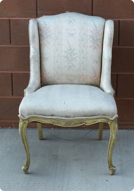 Thrift Store Chair 006