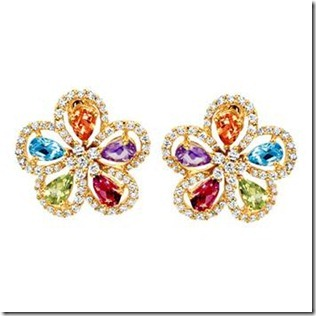 multi color earrings for girls