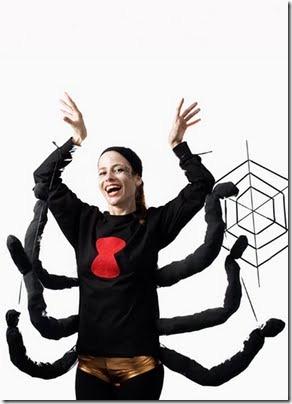 disfraz araña mujer