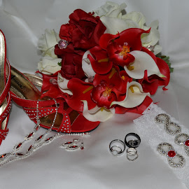 Brides Items by Tona Adamson - Wedding Other ( shoes, flowers )