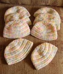 Hats 8 pastels