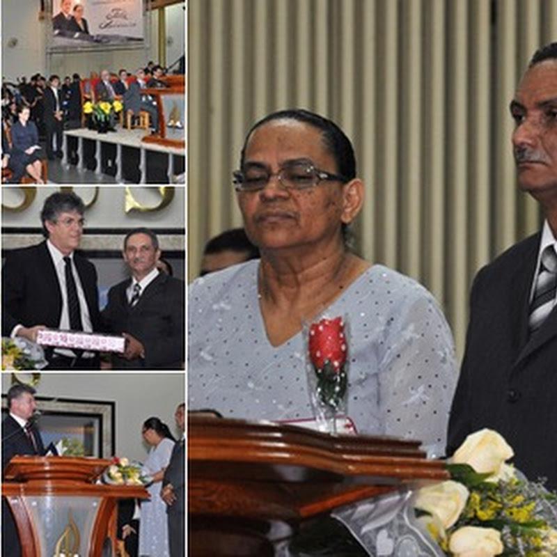 Governos estadual e municipal, e pastores presidentes de outros estados parabenizaram o Pastor José Carlos de Lima