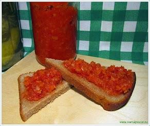 Аджика овощная www. samapovar.ru