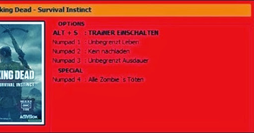 The Walking Dead: Survival Instinct v1.0.0 +4 Trainer | PC ...