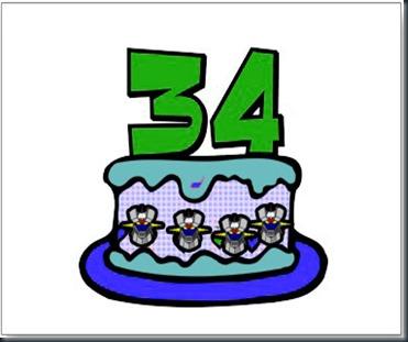 34años