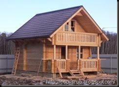 преимущества строительства сруба дома 2