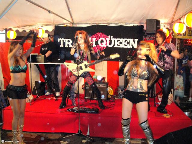 trash queen in Tokyo, Tokyo, Japan