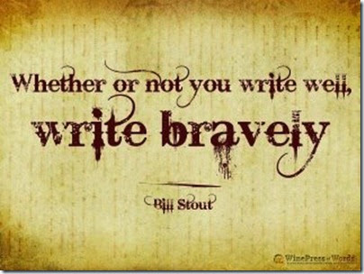 Write Bravely - Bill Stout
