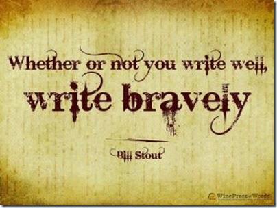 Write Bravely - Bill Stout