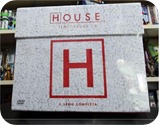 HOUSE COMPLETO  DVD