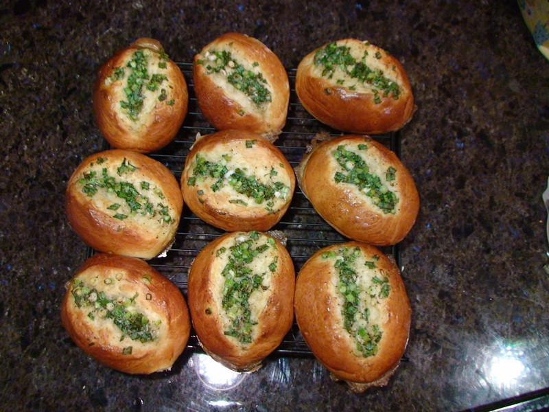 85度C 湯種香蔥麵包