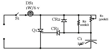 Familiarization with Silicon Controlled Rectifier(SCR) and its application for DC and AC power control