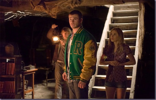 Anna-Hutchison-Fran-Kranz-and-Chris-Hemsworth-in-Cabin-in-the-Woods-2011-Movie-Image