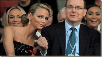 Charlen Wittstock Prince Albert II of Monaco