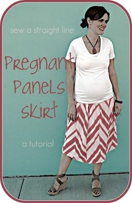 pregnant panels skirt