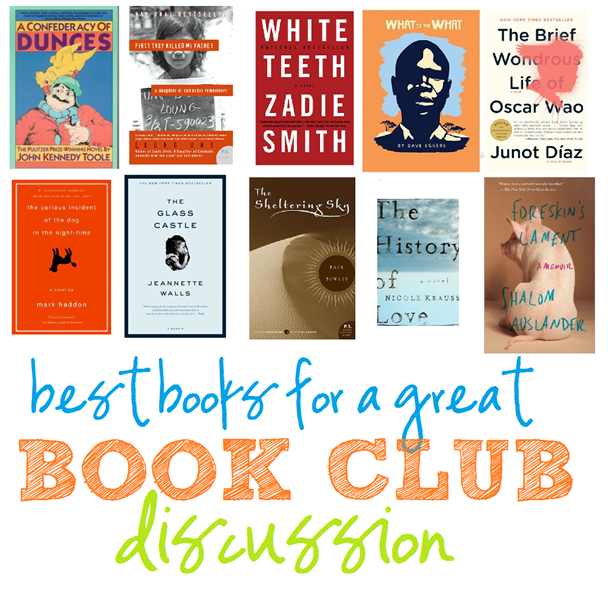 best books for a great book club discussion