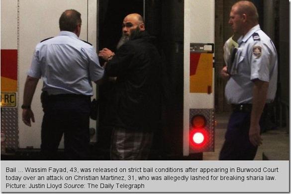 20 7 2011 Wassim Fayed Sharia Flogger