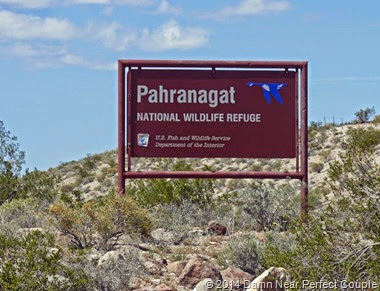Pahranagat NWR Sign