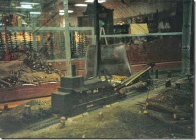 06 Logging Diorama at the Triangle Mall in November 1997