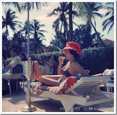 poolside_fashion 1961 - the Colony hotel