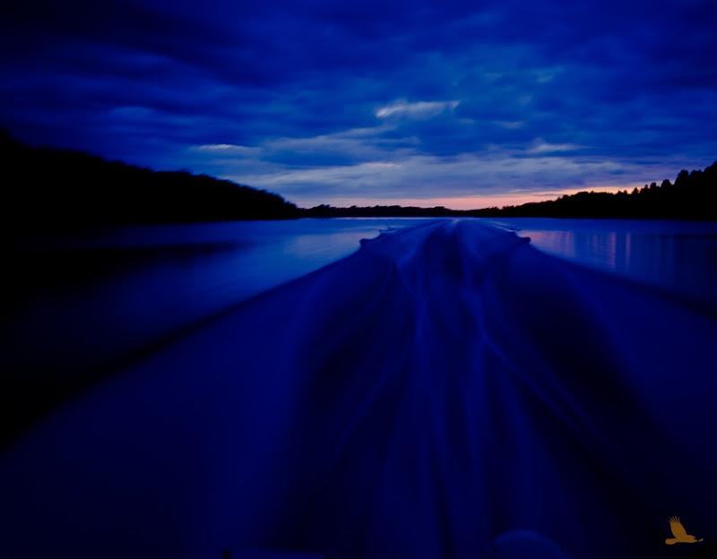 Kveld i båt