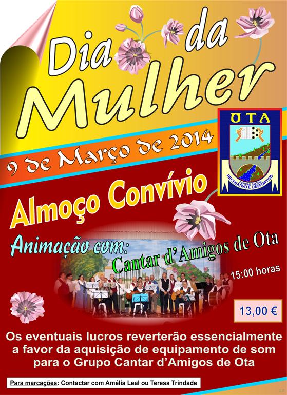 Dia da Mulher (Progr. CSRDO) - 09.03.14