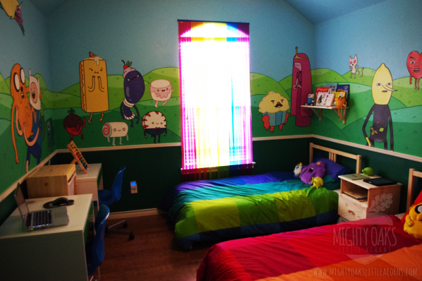 Adventure Time Bedroom from Mighty Oaks, Little Acorns 1
