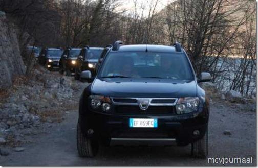 Dacia Club on the road Italië 08