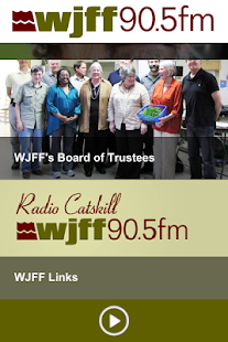 WJFF Radio - screenshot