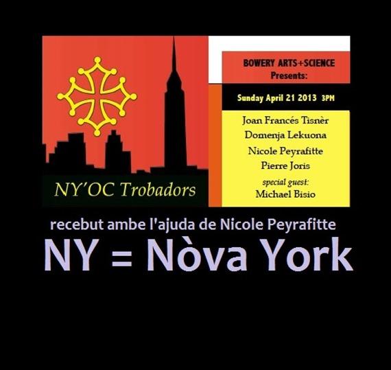 Nòva York e trobadors