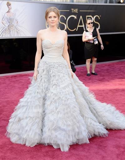 Amy Adans de Oscar de la Renta