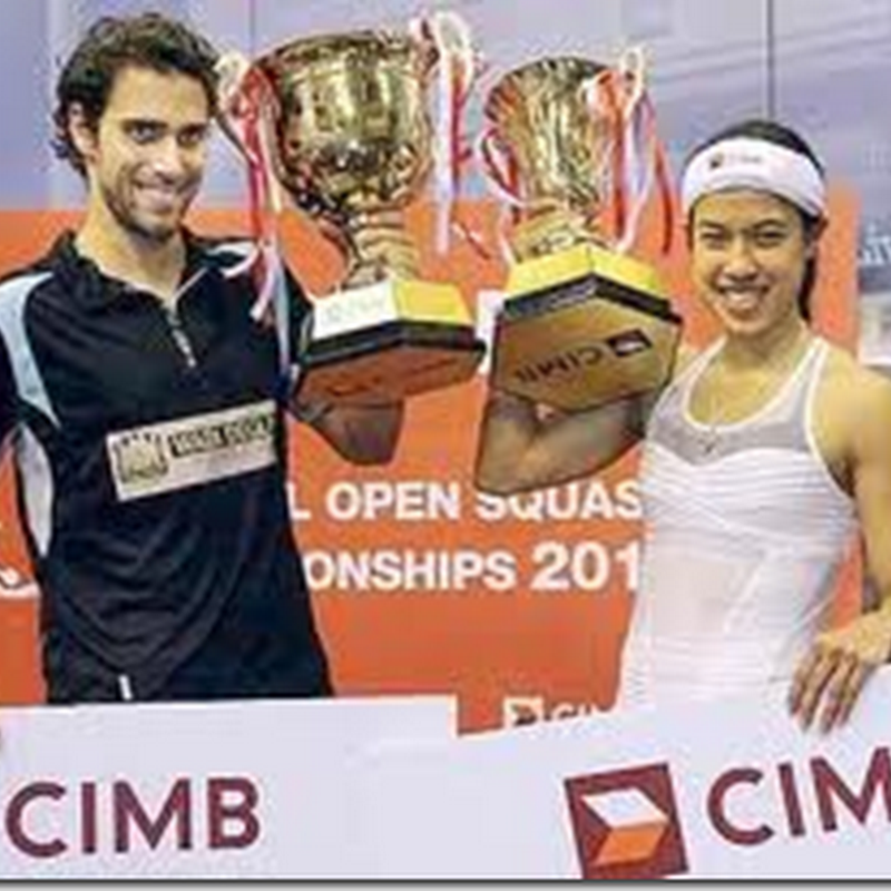 Nicol David dihargai CIMB !