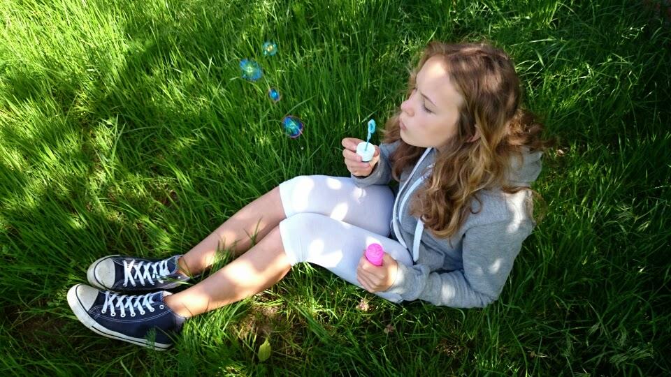Viel Spaß beim Blasen