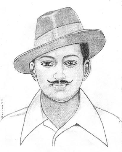 bhagat singh sketch wallpaper - photo #24