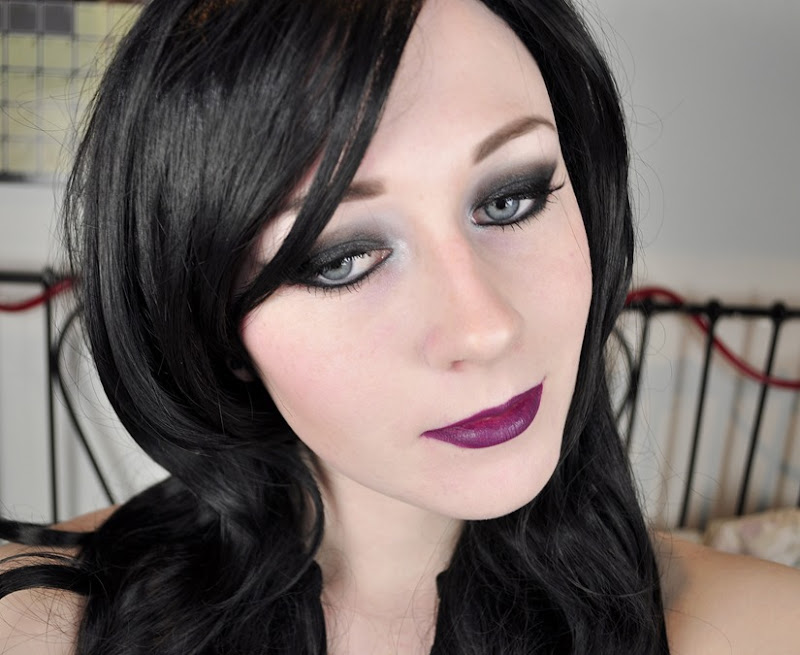haunted mansion inspired makeup look liberty square