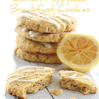 Lemon Poppyseed Breakfast Cookies