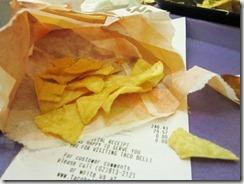 taco bell chips, 240baon