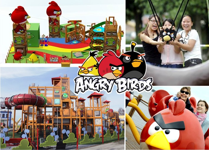 parque angry birds no brasil shoppings