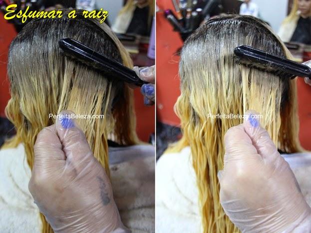 como esfumar a raiz do cabelo