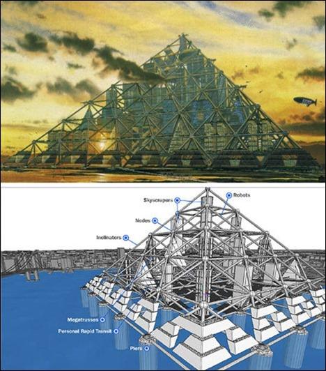 Megacity-Pyramids
