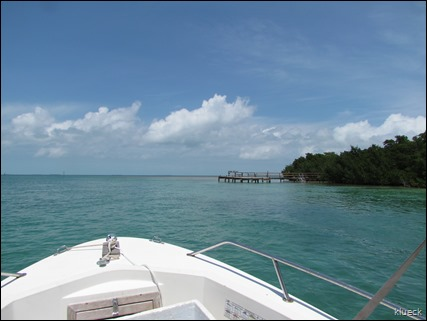 boating off Sunshine Key