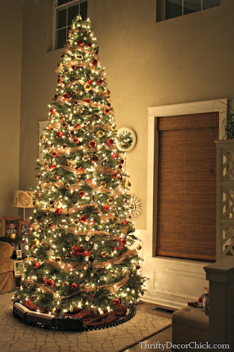 Christmas Tree Party, 2014 from Thrifty Decor Chick