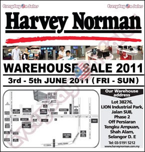 Harvey-Norman-Warehouse-Sale-Shah-Alam-2011