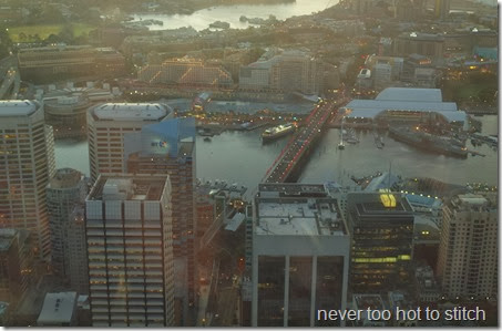 Darling Harbour sunset
