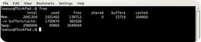 liberar memoria SWAP con Swapon y Swapoff1