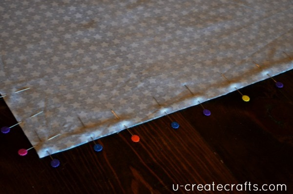 Car Seat Blanket tutorial