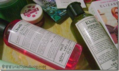 Khadi Pudina Scrub Khadi Skin Toner