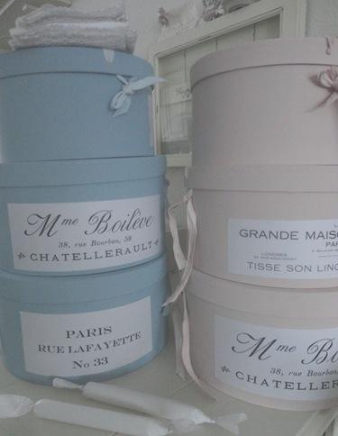 scarborough fair pastel hatboxes�