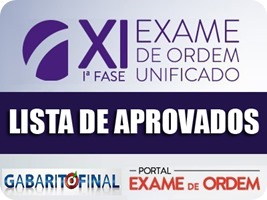 XI OAB - resultado 1ª fase - 2